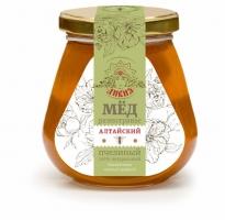 Мёд натуральный  Разнотравье 350 гр